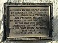 Hiker plaque - Woburn, MA - DSC02749.JPG