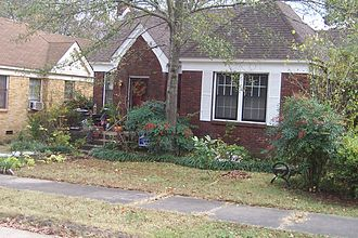 Whitewater controversy - Image: Hillary Rodham Bill Clinton Little Rock House 1