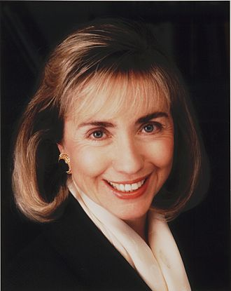Hillary Clinton - Clinton in 1992