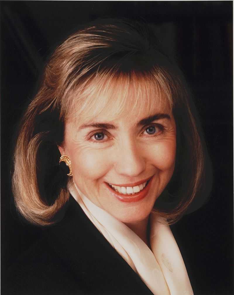 Portrait of Hillary Rodham Clinton