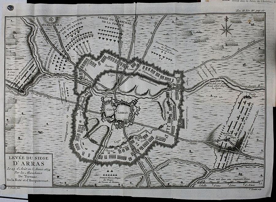 Battle of Arras (1654)