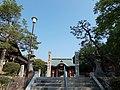 Hiyoshi-jinja stone pillars.jpg