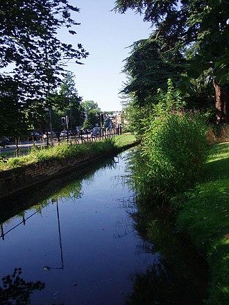Trumpington Road - Image: Hobson'sconduit 1