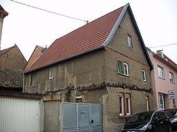 Jahnstraße in Bodenheim