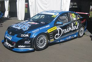 2014 Dunlop V8 Supercar Series - Dan Day (Holden VE Commodore) placed 20th in the series