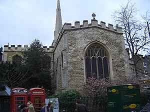 Holy Trinity Church, Cambridge - Image: Holy Trinity Church in Cambridge