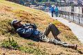Hombre echando una siesta en San Cristóbal, Cusco, Perú, 2015-07-31, DD 49.JPG