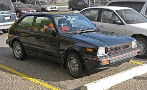 Honda Civic (second generation) - Sportier Honda Civic S