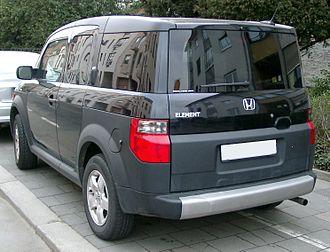 Honda Element - Honda Element (Europe)