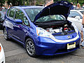 Honda Fit EV at cars and croissants.jpg