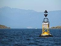 Horswell rock east cardinal buoy.jpg