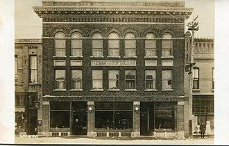 Fergus Falls, Minnesota - Hotel Kaddatz, Fergus Falls, Minnesota, 1920