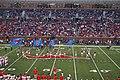 Houston vs. Southern Methodist football 2016 18 (Peruna and cheerleaders).jpg