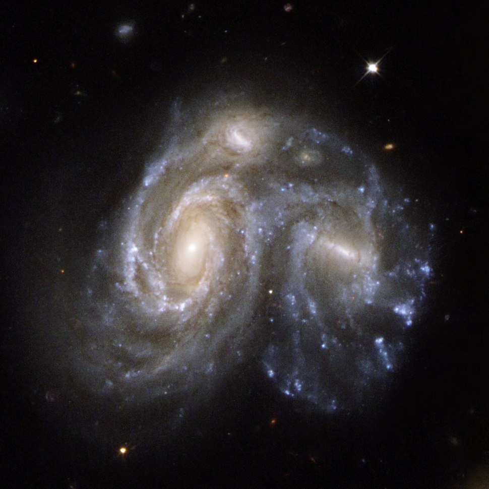 Hubble Interacting Galaxy NGC 6050 (2008-04-24)