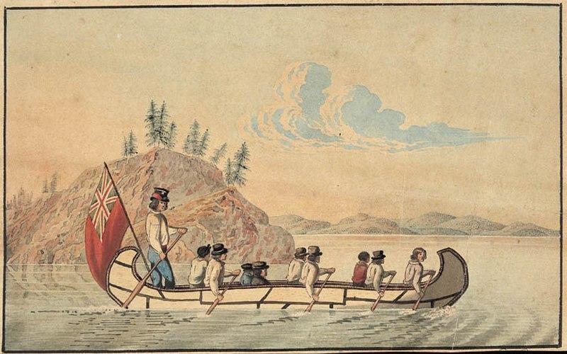 Hudson%27s Bay Company express canoe
