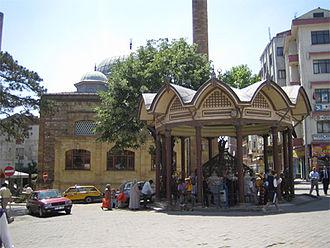 Biga, Çanakkale - Central square in Biga