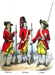 Huntingdons Regt 1695