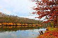 Huron River in Huron Meadows Metropark, Brighton, Michigan - panoramio.jpg