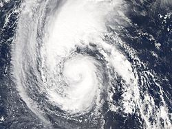 L'ouragan Florence, le 10 septembre 2006