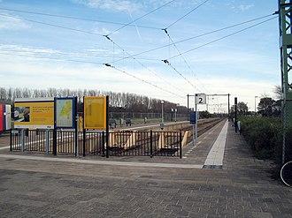 Schiedam–Hoek van Holland railway - Image: Hv H station Strand 2