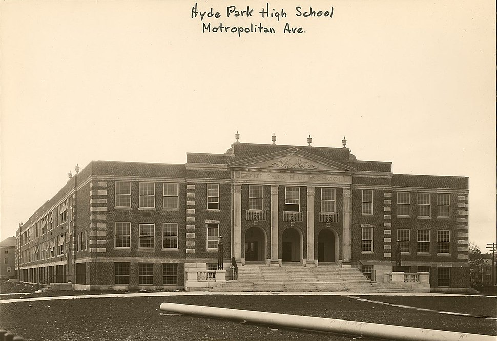 Hyde Park High School - 0403002092a - City of Boston Archives