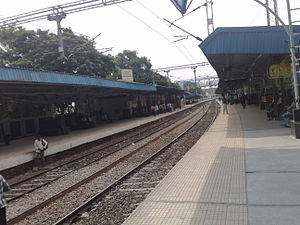Begumpet railway station - Begumpet Railway Station view