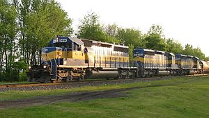 Iowa, Chicago and Eastern Railroad - Image: ICE 6444 20050529 IL Fairdale