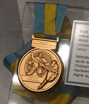 Ice Hockey World Championships - Image: IIHF World Championship Gold Medal