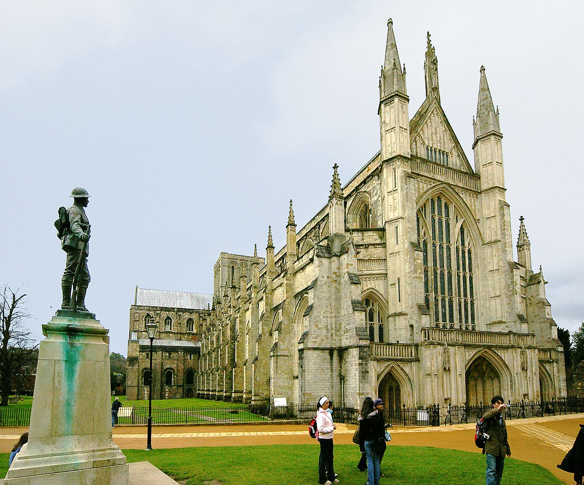 Winchester Cathedral Simple English Wikipedia The Free