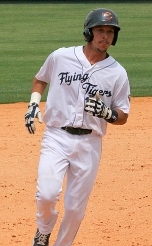 Hernán Pérez (baseball) - Pérez with the Lakeland Flying Tigers