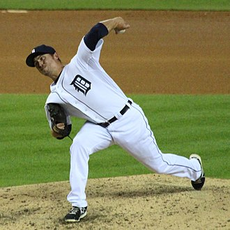 Blaine Hardy - Hardy with the Detroit Tigers