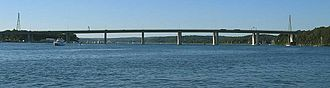 Raymond E. Baldwin Bridge - Image: IMG 4037 Raymond E. Baldwin Bridge