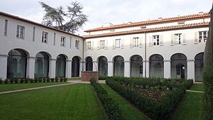 IMT School for Advanced Studies Lucca - IMT Lucca San Francesco Campus Courtyard
