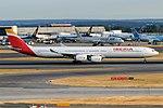 Iberia, EC-IQR, Airbus A340-642 (44404723231).jpg