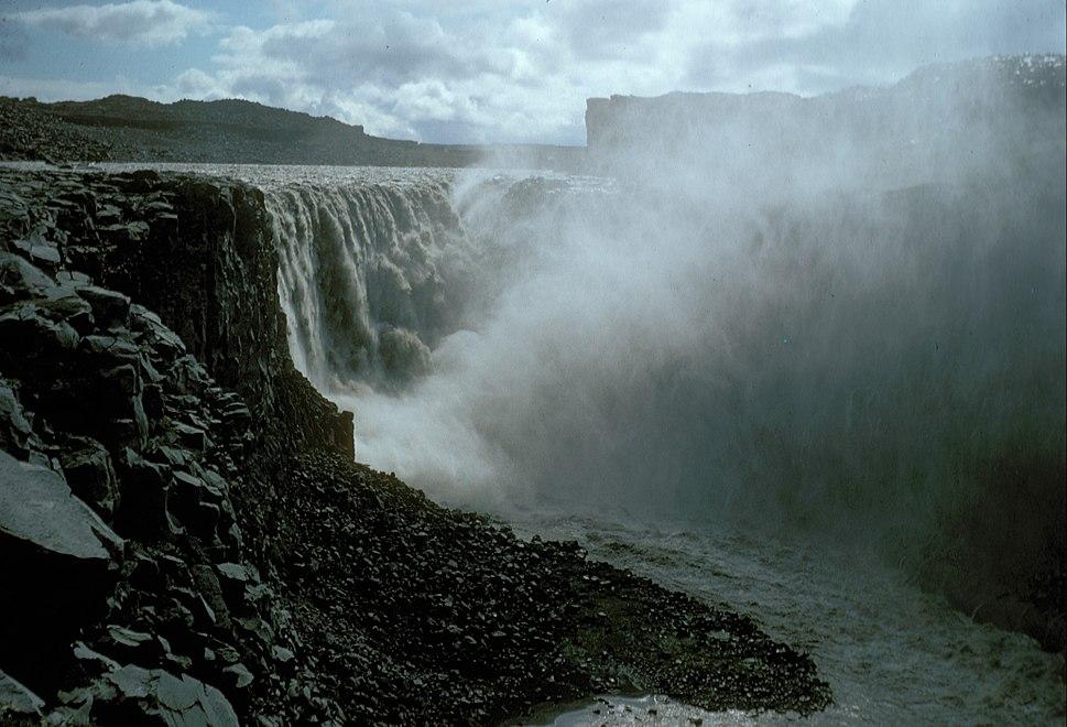 Iceland Dettifoss 1972 B