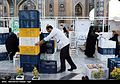 Iftar Serving for fasting people in the holy shrine of Imam Reza 15.jpg