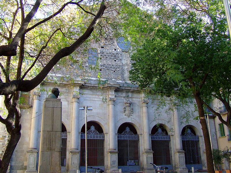 Fitxer:Iglesia de Sant Agustí Barcelona Front.jpg