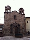 Igreja de Santa Teresa, Cidade de Cusco, Perù - panoramio.jpg