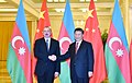 Ilham Aliyev met with Chairman of People's Republic of China Xi Jinping in Beijing 03.jpg