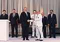Ilham Aliyev met with athletes who competed in 31st Summer Olympic Games 18.jpg