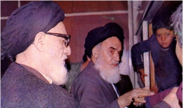 Imam Khomeini and Taleghani (2)