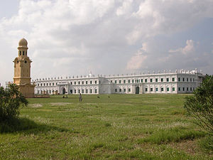 Shia Islam in India - Nizamat Imambara in West Bengal, built by Mansur Ali Khan (Nawab of Bengal) is probably the largest Imambara of India