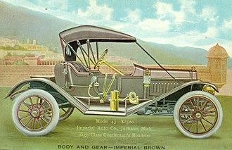 Imperial Automobile Company - Image: Imperial Auto Company Model 43 circa 1910
