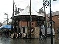 Improvised carpet stall - geograph.org.uk - 615903.jpg