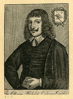 Nicholas Culpeper English botanist, herbalist, physician, and astrologer