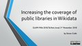 Increasing the coverage of public libraries in Wikidata.pdf