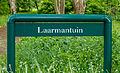 Infobord bij ingang van de Laarmantuin in de Hortus Haren.jpg