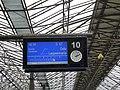 Information displays at Helsinki Central railway station 04.jpg