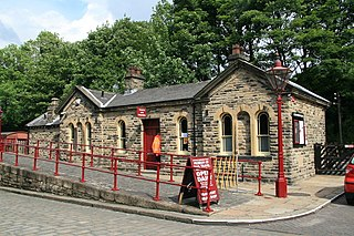 Suburb of the town of Keighley. West Yotkshire, England, United Kingdom