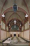 interieur kapel, overzicht naar het westen, gezien vanuit het oosten - maastricht - 20353943 - rce